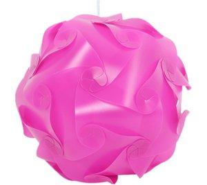 3000pcs=100set DIY Modern Pendant Ball Novel IQ Lamp Jigsaw Puzzle Pendants Colorful Pendant Lights 25CM 30CM 40CM 3 sizes 9clolors