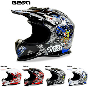 беон мотоцикл оптовых-2015 New Netherlands Beon Professional Off Road Helmet Motocross Motorcycle Racing Hearmet Motorbike Riding Helmet MX16 Размер M L XL