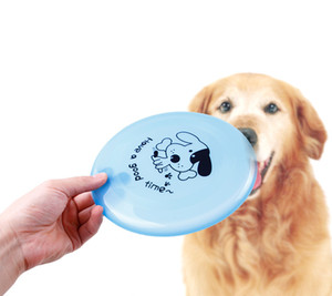 Wholesale 20cm Frisbee Dog Toys Eco friendly Rubber For Training Small Medium Large Dogs Flying Discs