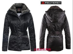 Wholesale 2016 Italy ms Peuterey feather waist thickening of cultivate one s morality in the rabbit fur collar long women coat down jacket