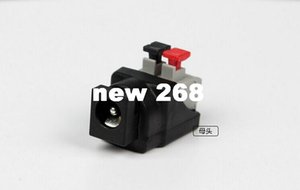 Connectors 5.5x2.1mm screwless 12v dc Female power Connector for led strip light