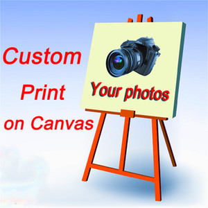 Custom Print on Canvas - Custom Wall Art Decor Painting Print of Your Family, Friends, Baby or Favorite photos picture