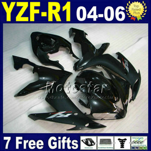 Wholesale kit motorbikes for sale - Group buy For YAMAHA fairing kit R1 matte black INJECTION set road motorbike V5N1 yzf r1 fairings plastic bodywork