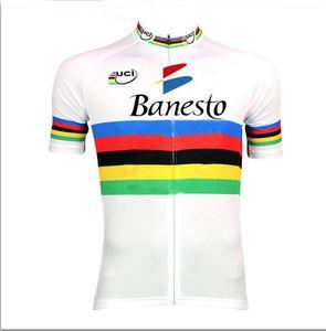 Banesto UCI mens Ropa Ciclismo Cycling Clothing MTB Bike Clothing  Bicycle Clothes 2019 cycling uniform Cycling Jerseys 2XS-6XL D1