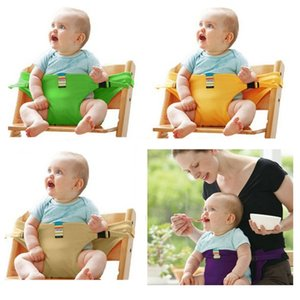 New Portable Baby Chair Infant Seat Dining Lunch Baby Feeding Chair Seat Safety Belt Feeding High Chair Baby Chair B0589
