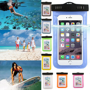 Wholesale Universal water proof case for samsung galaxy s7 s6 Iphone S Plus Cell Phone Dry Bag waterproof phone bag