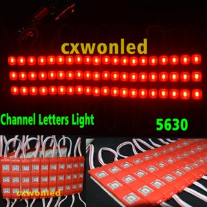 Wholesale Hot Sale Waterproof Red Led Modules LEDs Led Lighting Warm Cool Blue Green White Led Advertisement Lighting V Led Channel Lighting