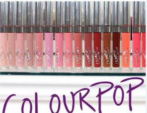 Wholesale 2016 New arrival Colourpop Lip Gloss ULTRA MATTE LIQUID LIPSTICKS Various colors Long Lasting lips Colour pop Colors