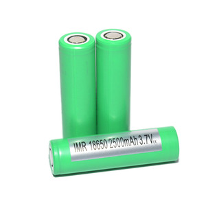 Authentic INR18650 25R Battery 2500mAh 20A 3.7V Battery High Drain Battery Cell Lithium 20A vs HG2 Free Shipping on Sale