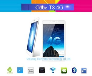 Wholesale Original Cube T8 Ultimate G LTE Tablet PC quot IPS x1200 Android MTK8783 Octa Core Phone Call GB RAM GB ROM MP Camera