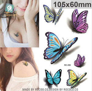 Wholesale 10 x6cm New sex products Design Fashion Temporary Tattoo Stickers Temporary Body Art Waterproof Tattoo Pattern HJIA658