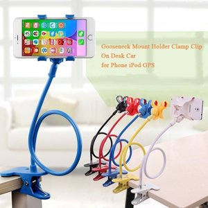 Wholesale Universal degree Rotation flexible long arms Lazy bracket Mobile Phone Holder Desk Bed Table Stand Mount