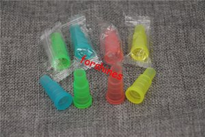 Wholesale mouth drip tip mouthpiece resale online - Smoking Accessories Hookah suction nozzle USA Arabian SHISHA SHI SHA Test Drip Tip Cap plastic hookah pipe Mouthpiece smoking pipe Disposable mouth tips