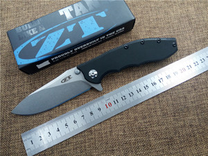 Zero Tolerance ZT0562 Tactical Folding Knife Camping Hunting Knife Outdoor Survival Tool G10 Handle ELMAX Blade Pocket EDC Knives on Sale