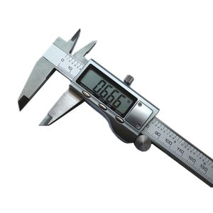 Wholesale Digital Caliper Stainless Steel Metal Casing Vernier Caliper Gauge Micrometer Electronic With Free Gift Mini Screwdriver