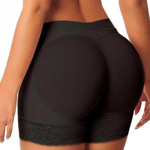 Wholesale Hot Shaper Pants Sexy Boyshort Panties Woman Fake Ass Underwear Push Up Padded Panties Buttock Shaper Butt Lifter Hip Enhancer