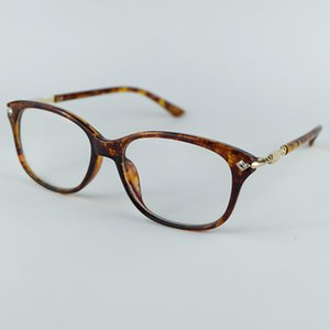 Wholesale Wholesale New Fashion Daily Optical Frame Inlay Diamond Beautiful Plastic Blend Metal Glasses Frame For Women