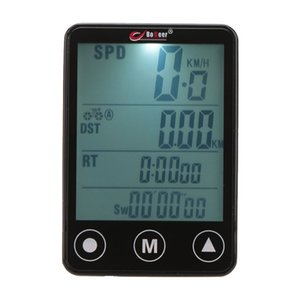 Wholesale Hot Sale Touch Button Bicycle Computer Odometer Speedometer Multifunction LCD Large screen Bike Computer