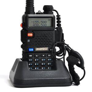 Lowest Price Walkie Talkie BAOFENG BF-UV5R 5W 128CH UHF+VHF 136-174MHz+400-480MHz DTMF Two Way Radio Portable Radio