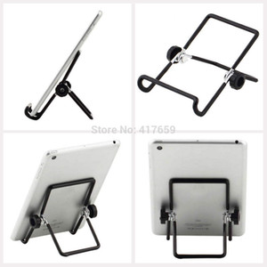 Wholesale Metal Iron Wire Steel Wire Degree Adjustable Foldable Tablet PC Stand Holder for inch mini IPAD air Tablet PC