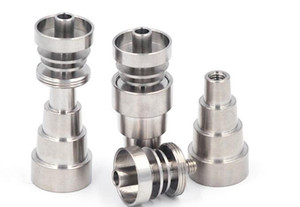 Wholesale New arrival Titanium Nail Domeless Universal Male and Female joint Fit mm mm glass bongs water pipe