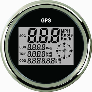Universal Digital GPS Speedometer Speedo Gauge For Car Motorcycle UTV Boat Yacht Vessel 3-3 8''(85mm) 9-32V on Sale