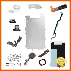 Wholesale FULL LCD DISPLAY PC REPAIR PARTS HOME BUTTON CAMERA SPEAKER SCREEN REPAIR SETS FOR IPHONE S PLUS