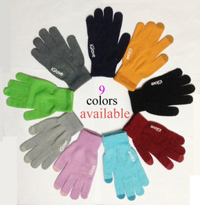 Wholesale With retail pack High quality Unisex Cell Phone iGlove Capacitive Touch Screen Gloves for iphone for ipad smart phone iGloves gloves B0555