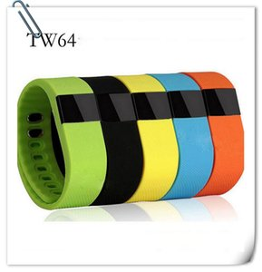 Wholesale 2016 Newest FITBIT TW64 wristband Smart Bands Fitness Activity Tracker Bluetooth smartband Sport Bracelet colors for android ios