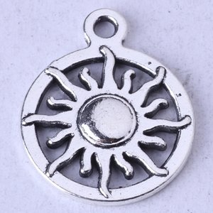 Wholesale zinc alloy sun pendants for sale - Group buy SUN ring Pendant antique Silver bronze pendant fit Necklace DIY Jewelry Zinc alloy z