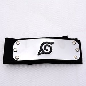 Wholesale-Fashionable Classic Unisex Naruto Forehead Guard Headband Cartoon Cosplay Accessories HDR-0206