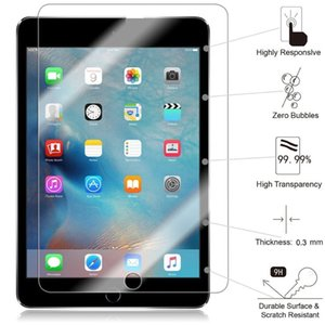 Wholesale Tempered Glass Screen Protector Anti Scratch film HD Clear For IPAD mini without packing