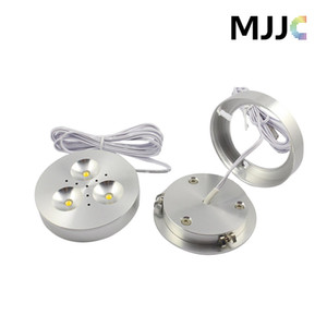 Wholesale led lights kitchen cabinets for sale - Group buy 12V DC W Dimmable LED Downlights Under Cabinet Light Puck Lights Ultra Bright Warm White Natural White Cool White for Kitchen Lighting