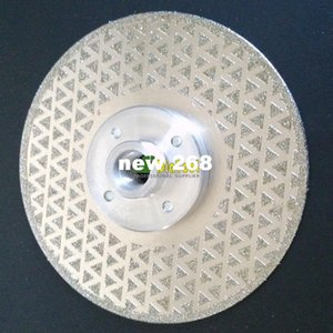 Wholesale stone grinding disc for sale - Group buy 2pcs mm Electroplated Diamond cutting grinding discs for granite and stone M14 Flange