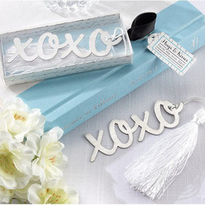 Wholesale Bookmark Xoxo Letter Vintage Bookmark For Books With Tassel Exquisite Gift For Kids TC5411