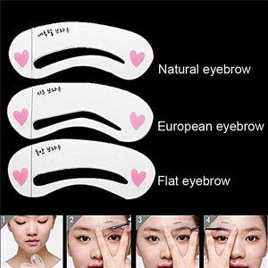 Makeup Genuine Etude House Thrush Card Novice Simple Three Kinds Of Eyebrow Eyebrow Stencils Eyebrow Tools Eyebrow Card F602