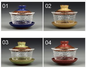 Chinese kungfu gai wan teaset China glass Tea Sets Dehua gaiwan tea porcelain teapot tea set for travel Beautiful easy kettle on Sale