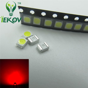 Wholesale 1000pcs PLCC Red LED SMD Ultra Bright Light Emitting diodes V NM SMD SMT Chip lamp beads Hot SALE