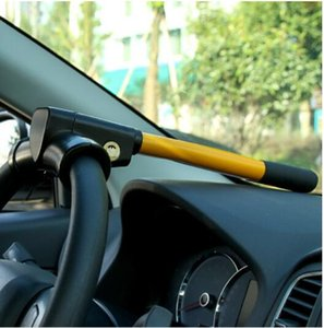Wholesale T lock T shaped lock steering wheel lock car steering car wheel anti car theft Suitable for all cars