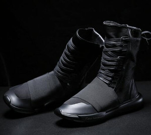 Wholesale y3 black warrior high help men s shoes new thick day ninja shoes with casual shoes tide