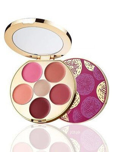 New Rainforest of The Sea Kiss & Blush Cream Cheek & Lip Makeup Palette 6 color Eyeshadow Contour Lipstick and Good Quality Free Shipping