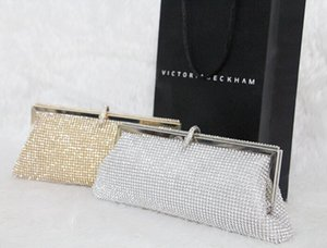 Wholesale Hot Selling Fashion Women s Sparkling Diamond Dazzling Clutch Party Evening Bag Ladies Handbag Girls Crystal Bling Purse Colors