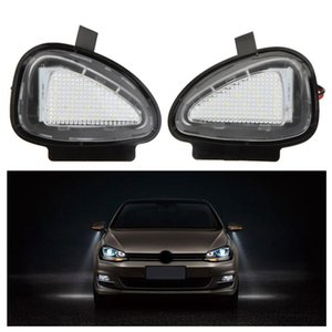 Wholesale 20Pair LOT LED Under Side Mirror Lamps for VW Golf 6 Cabriolet Passat (B7) Touran Free shipping