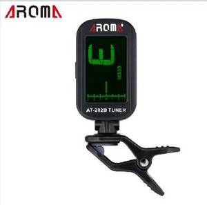Aroma AT-202B Musical instruments LCD Digital chromatic guitar bass ukulele Guitar Tuner Guitar Parts Musical instrument accessories on Sale