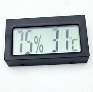 high quality mini Digital LCD display Indoor outdoor Thermometer Hygrometer Humidity Instrument Temperature sensor Meter temp tester