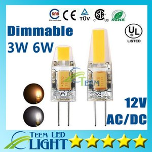 Wholesale High Quality G4 LED Dimmable AC DC V COB Light W W LED G4 COB Lamp Bulb Chandelier Lamp LED lights bulb warranty year