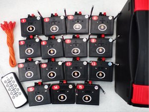 Wholesale 15 Channel Fireworks Firing system Wireless switch CE FCC Stage connect wire wedding gift Radio fire Electric remote mm copper wire