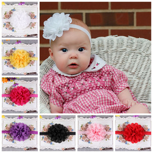 Wholesale Hot Sale Hair Accessories For Infant Baby Lace Big Flower Princess Babies Girl Hair Band Headband Baby s Head Band Kids Hairwear