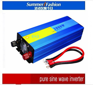 Wholesale free ac dc inverter resale online - DHL FedEx UPS Pure Sine Wave W peak W Power Inverter Converter DC V to AC V or V convertidor de potencia