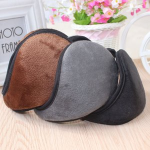 Wholesale Super soft men ear warmer cover rabbit hair ear warm winter women ear muffs colors